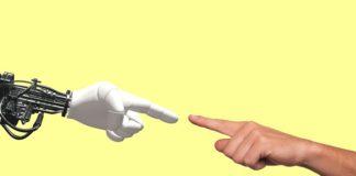 robot human hand