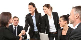 men and women employees