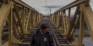 men on bridge